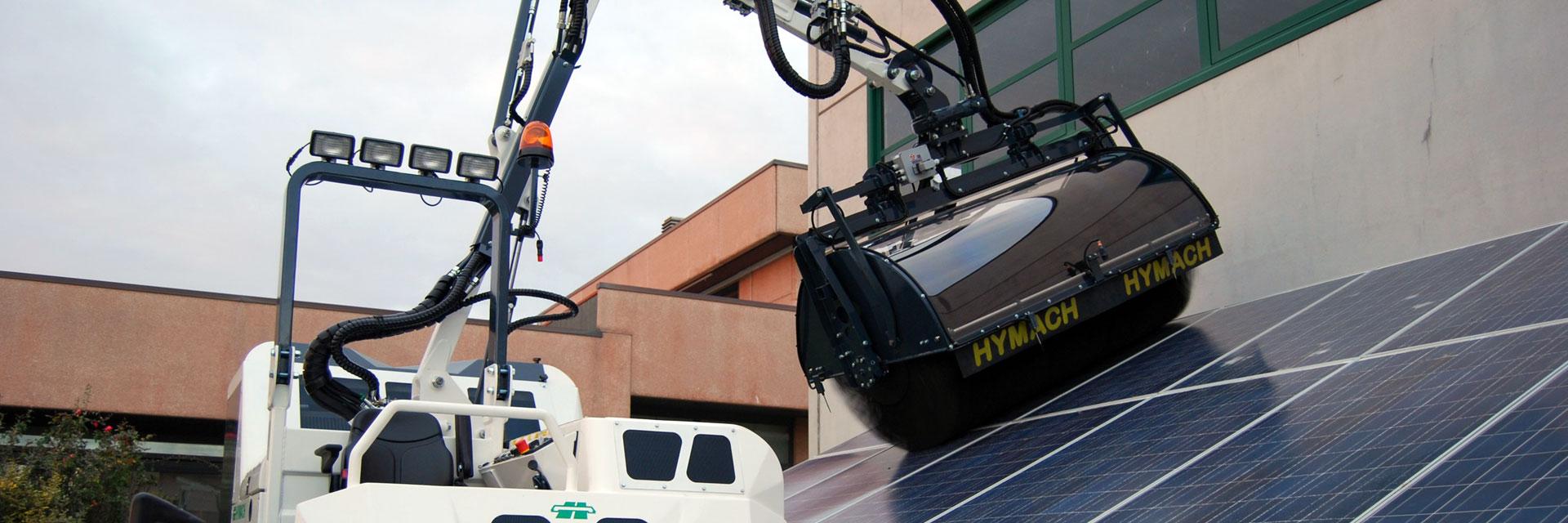Reiniger für Sonnenkollektoren